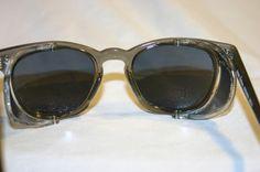 484446368a New AO American Optical Steam Safety Frames Shield Eyeglasses Sunglasses 48