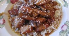 Moore babies: {Pinned there, Done that} Crockpot Honey Sesame Chicken