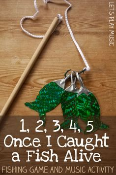 One-Two-Three-Four-Five : Counting song & Fishing game - hours of fun!