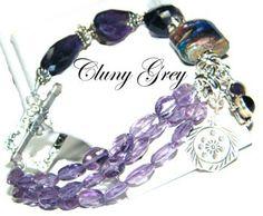 amethyst bracelet   http://www.clunygreyjewelry.com/Amethyst-bracelets.html
