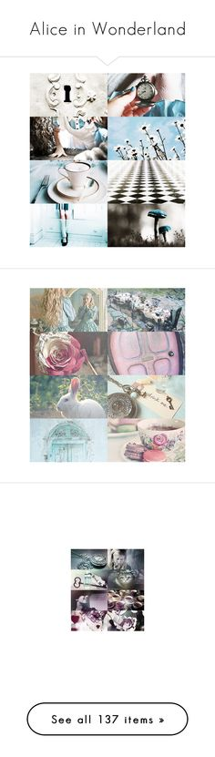 """Alice in Wonderland"" by srta-sr ❤ liked on Polyvore featuring smralice, disney, backgrounds, pictures, alice, alice in wonderland, home, home decor, wall art and fairy tale"