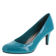 Ideal for the office or an evening on the town, the women's Karmen Pump has it all. Its soft lining, cushiony insole, and round toe give you the comfort you need. Its sleek styling and three-inch heel give you the look you want. Plus, you get the sturdy construction — using manmade materials — that means this shoe will keep you looking great for a long time. The Karmen Pump from Comfort Plus by Predictions is the perfect shoe for the woman on the go.<br /><br />Look at these important ...