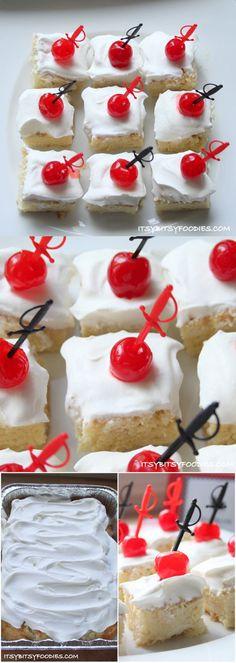 Easy Tres Leches Cake Recipe | Cinco de Mayo Dessert Food Ideas by DIY Ready at http://diyready.com/23-cinco-de-mayo-recipes-to-get-the-party-started/