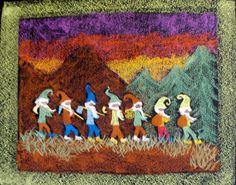 Four Winds Waldorf School Chalkboard drawing of Four Winds first grade teacher, Brenna Hardin)
