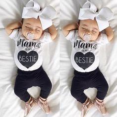 Mama Is My Bestie Pant/T-shirt SET