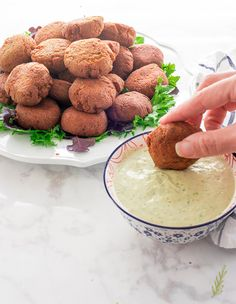 Egyptian-Style Falafel Made with Fava Beans: Vegetarian and Vegan