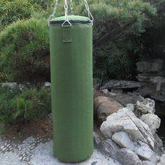 0d0c963ec 80 100 120 cm Green Cavas Boxing Punch Sandbag For Men Women Muay Thai MMA  boxeo Sanda Fight Training Sandbags saco de pancadas-in Punching Bag   Sand  Bag ...