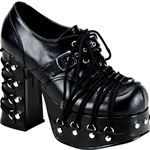 Charade Corset Platform Shoes 34-3028 - Buy from By The Sword, Inc.