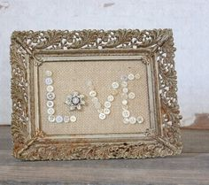 buttons in a frame...cute by KathrynGP