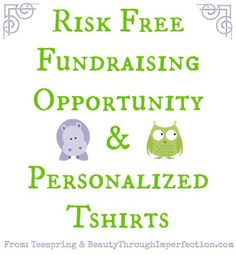 Awesome fundraising company. Sell shirts without having to front costs for them AND design them exactly how you need them!  Definitely using these people for future fundraisers!