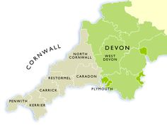CORNWALL AND DEVON | 'Within Cornwall, The Local Government and Public Involvement in Health Act 2007 led to the abolition of the six district councils and Cornwall County Council, establishing in their place the single unitary authority, Cornwall Council. All civil parish councils became the responsibility of this authority. At the same time four new civil parishes were created in the St Austell area, parishing the last remaining populated part of the county.'     ✫ღ⊰n