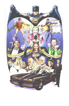 Batman 1966 Anniversary by andypriceart.deviantart.com on @deviantART  Is there ever a time when Batman hasn't been cool?