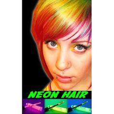 Blacklight Responsive Neon Hair Mascara (Set of 3)