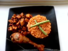 So, Jollof rice. Where do I start, with Jollof rice? In the average Nigerian's lifetime, Jollof rice would have been eaten in thousands of portions. Jollof Rice Nigerian, Nigerian Food, Rice Recipes, New Recipes, Chicken Recipes, Gluten Free Sides Dishes, Meal Planning, Healthy Eating