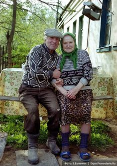 Babushka - Didushka.. oh, my, so cute.  There's something amazing in their eyes.