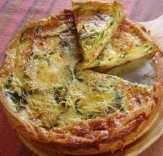 Discover recipes, home ideas, style inspiration and other ideas to try. Quiches, Omelettes, Veggie Recipes, Baby Food Recipes, Cooking Recipes, Healthy Recipes, Salada Light, Empanadas, Argentina Food