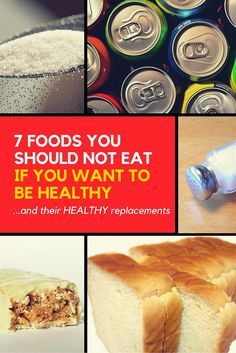 7 Foods you should not eat if you want to be healthy. Weight loss rut? Learn which foods to cut out to lose weight. These are the top foods to cut to lose belly fat and get lean. The last one will surprise you.