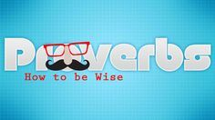 """Book of Proverbs A Bible Study Series for Preteens The Book of Proverbs is an 8 week series on how to be wise. When preteens think of """"wisdom"""", the image of an old man with glasses and a mustache m..."""