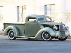 A fully custom 1938 Ford Pickup owned by Dan Collins - Classic Trucks Magazine