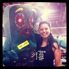Just found out that the voice of Gumby, from the TV show, died on Friday, the very day after I met Zombie Gumby at Wizard World Comic Con Philadelphia.     RIP Gumby, RIP.
