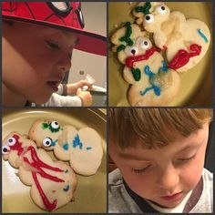 A week of pure JOY having my nephews in my house! Tonight these 4 year olds baked these snowmen cookies from scratch #love #nephews #family #livecooklove #boys #cookies #baking #snowman #homechef #vegas #lovethesekids