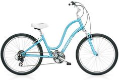 """Women's Bike Townie...I just bought a bike like this. (My pink bike didn't have speeds so I had to upgrade.)  """"Tricking it out"""" a little to make it just for me...then I'll post my own picture. :-)"""