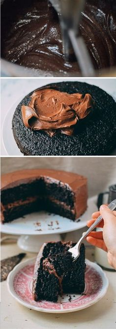 Our favorite Chocolate Cake recipe