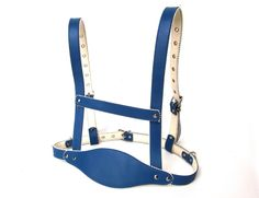 Adult Baby   Sissy   blue harness / reins with leash NEW