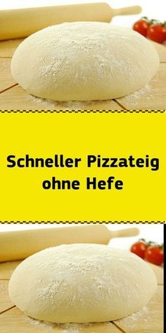 Schneller Pizzateig ohne Hefe 2 persons Ingredients for 280 g flour 1 tablespoon baking powder t Snacks Pizza, Pizza Recipes, Appetizer Recipes, Pizza Rapida, Pizza Dough, Pizza Pizza, Pizza Yeast, Toast Pizza, Quick Pizza
