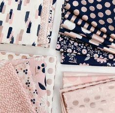 Blush Sparkle bundle of 19 prints Rose Gold Sparkle Cotton Tela Shabby Chic, Colchas Quilt, Rose Gold Fabric, Fabric Photography, Fabric Yarn, Cotton Fabric, Modern Prints, Fabric Patterns, Fabric Design