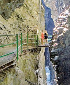 Klettern, Berchtesgadener Alpen, Wasserfälle, Wettersteingebirge, Partnachklamm, Schluchten, Wandern, Allgäuer Alpen, Breitachklamm