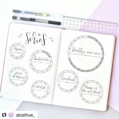 """166 Likes, 1 Comments - Bullet Journal Inspire (@bujoinspire) on Instagram: """"#Repost @alosthue_ (@get_repost) ・・・ TV series tracker! For each season of a TV show that I watch,…"""""""
