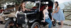 """""""Ciak, azione"""": auto d'epoca in scena a Giffoni Valle Piana."""