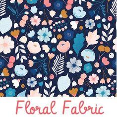 Dashwood Floral 100% Cotton Fabric - Millefleur And Confetti - Fat Quarter