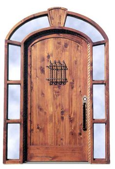 Door - Custom Arched Grand Entry - 1381GP