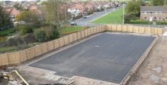 Installing Synthetic Grass Surfacing in Wrexham #Synthetic...