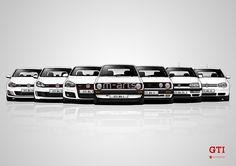 History - Volkswagen Golf GTI by m-arts