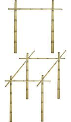 Bamboo Fencing, Bamboo Poles, Bamboo Panels, Thatch, Matting, and Tiki Huts by Sunset Bamboo: How To Install