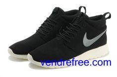 Vendre Pas Cher Chaussures Homme Nike Rushe Run (couleur:vamp,interieur-noir;logo-argent;seul-blanc) en ligne en France.