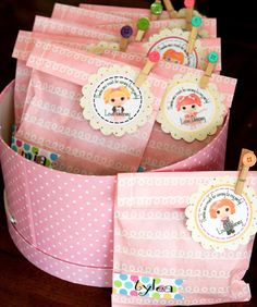 Lalaloopsy Doll + Sewing, Button Birthday Party Ideas |