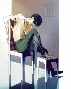 Older Ciel Phantomhive I LIKE WHAT I SEE -- I totally enjoy what i see