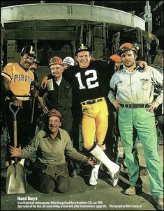 Pittsburgh Steelers Terry Bradshaw Pirates Willie Stargell Sportsmen of the Year - Pittsburgh Steelers Terry Bradshaw Pirates Willie Stargell Sportsmen of the Year - # Steelers Cheerleaders, Pitsburgh Steelers, Pittsburgh Steelers Football, Pittsburgh Pirates Baseball, Steelers Stuff, Pittsburgh Sports, Dallas Cowboys, Nfl History, Steeler Nation