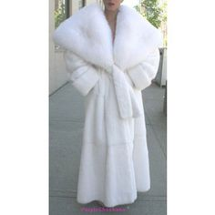 Your Bathroom Robe is a Snow white mink...