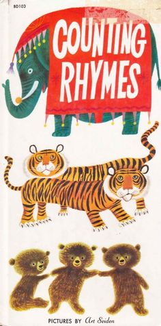 Art Seiden, Counting Rhymes, 1959. Cover and illustrations by Art Seiden.