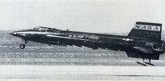 X-15 at Edwards Air Force Base