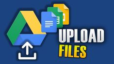 HOW TO UPLOAD FILES TO GOOGLE DRIVE Google Drive, Channel, Hacks, Technology, Videos, Tips, Youtube, Tech, Glitch