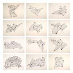 "Saatchi Art Artist Ernesto Walker; Drawing, ""Black Diamonds"" #art"