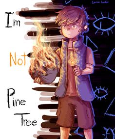 """Dipper: I'm tired of being """"PineTree"""" Bill: Why That? Gravity Falls Anime, Reverse Gravity Falls, Gravity Falls Fan Art, Gravity Falls Comics, Gravity Falls Bill, Reverse Falls, Dipper Pines, Dipper Y Mabel, Dipper And Bill"""
