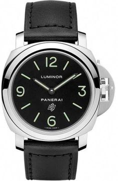 9047040fc24 Panerai Luminor Stainless Steel with Black Dial 44mm Mens Watch   coolmenswatches Left Handed Watch