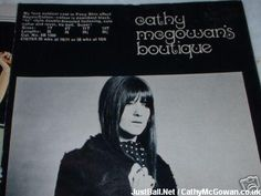 Cathy McGowan's Boutique catalogue Cathy Mcgowan, Swinging London, London Clubs, 1960s, Magazine, Boutique, Eyes, Vintage, Anos 60